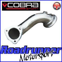 VX01b Cobra Sport Astra Coupe Turbo De-Cat Exhaust Pre Cat Downpipe 2.5 Pipe