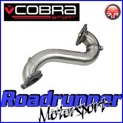 VX22 Cobra Astra VXR J MK6 1st De Cat Downpipe 3 Front Pipe Stainless Exhaust