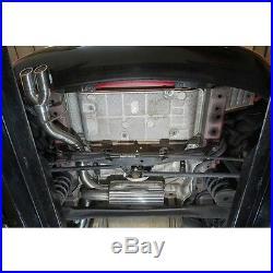 VX32 Cobra Sport Vauxhall Astra J 1.6 GTC 09 Cat Back System Non-Res