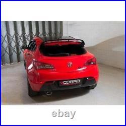 VX33 Cobra sport Vauxhall Astra J 1.6 GTC 09 Cat Back Res
