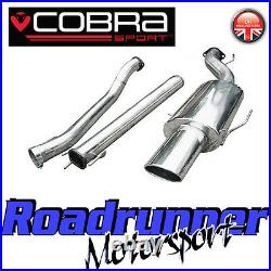 VX61 Cobra Astra Turbo Coupe MK4 Exhaust System 2.5 Stainless Cat Back Non Res