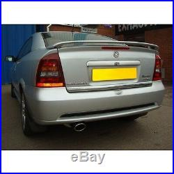 VX62 Cobra Astra Turbo Coupe MK4 Exhaust System 2.5 Cat Back Resonated -Quieter