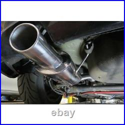VX62 Cobra sport Vauxhall Astra G Turbo Coupe 98-04 Cat Back Res