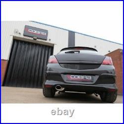 VX79 Cobra sport Vauxhall Astra H 1.9 CDTI 04-10 Cat Back Res