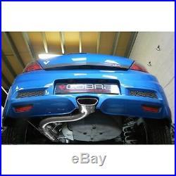 VZ08g Cobra Sport Vauxhall Astra H VXR 05-11 Cat Back Exhaust 3 bore Resonated