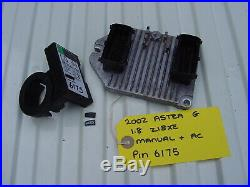 Vauxhall Astra Ecu Set 09158670 + Pin Code. Opel Z18xe 16 Valve Ecm Kit