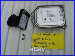 Vauxhall Astra Ecu Set 55351702 + Pin Code Opel 5wk9 1720 Z18xe 16 Valve Ecm Kit