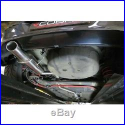 Vauxhall Astra G Turbo (Coupe) Resonated Cat Back Cobra Sport Exhaust VX62
