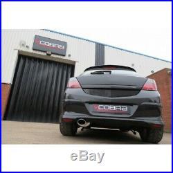 Vauxhall Astra H 1.4 / 1.6 / 1.8 Non-Resonated Cat Back Cobra Sport Exhaust VX75