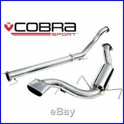 Vauxhall Astra H VXR Non-Resonated Cat Back Cobra Sport Exhaust VX71