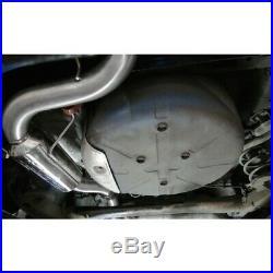 Vauxhall Astra H VXR Turbo Back Exhaust (Sports Cat/Resonator) Cobra Sport VZ07a