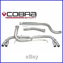 Vauxhall Astra J VXR Loud Venom Cat Back Cobra Sport Exhaust VX28