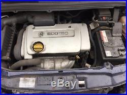 Vauxhall Astra Mk4 Zafira 1.6 16v Valve Z16xe Engine Excellent Runner