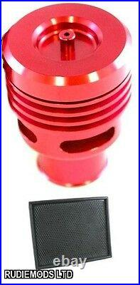 Vauxhall Astra Mk5 VXR Collins Red Dump Valve Kit and Pipercross Air Filter