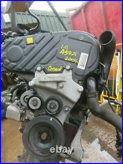 Vauxhall Astra Zafira Engine 1.9 Cdti 16 Valve Starts And Runs Fine 2007 Model