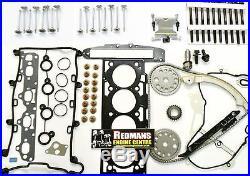 Vauxhall vectra 2.2 Z22SE Head rebuild kit head gasket set valves, timing kit