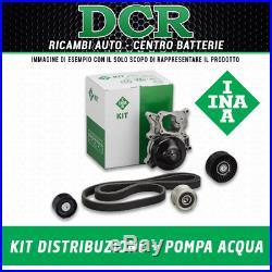 Water Pump + Set Belts Serrated Ina 530045030 Alpha Romeo Chevrolet Chevrolet